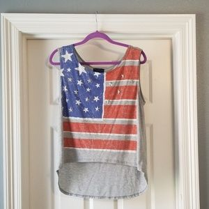 The Classic American Flag Tank
